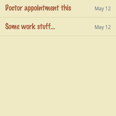 Classic Notes Lite for Android