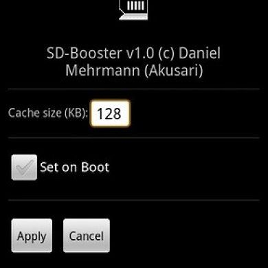 SD-Booster for Android