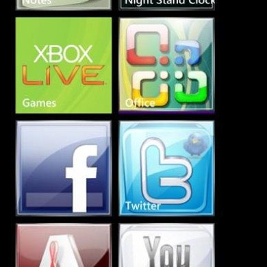 Icon Set for Advanced Config Updated – Windows Phone 7