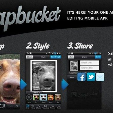 Snapbucket: Snap, Style, and Share!