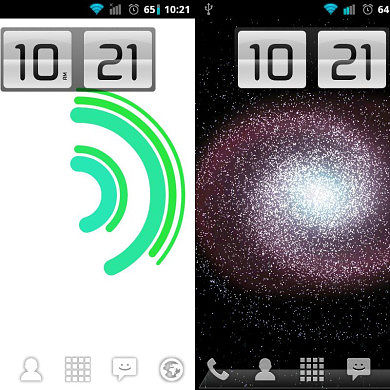Animating Flip Clock Widget Brings a Smooth Digital Clock to Your Android Home Screen!