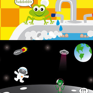 Keep Your Kids Entertained With Audabubble HD for Android