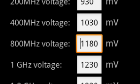 Set Custom Voltage On Your Nexus S With Proton Voltage Control