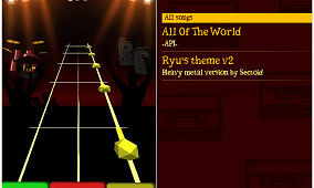 Fulfill Your Guitar Hero Longing with FireTaps for Android