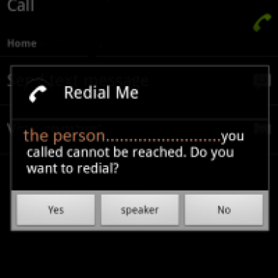 """Effortlessly Redial With """"Redial Me"""" for Android"""