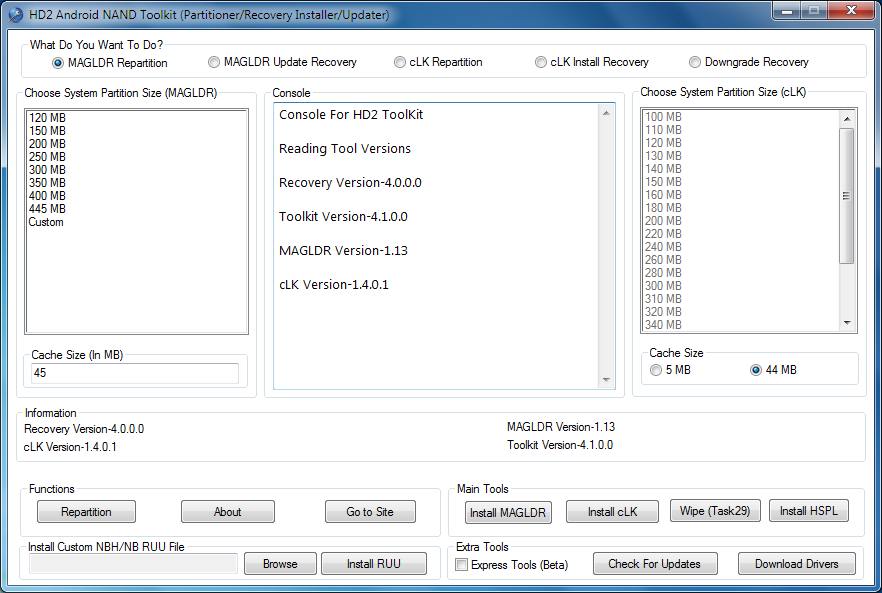 htc hd2 android nand toolkit