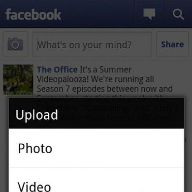Facebook for Android 1.6