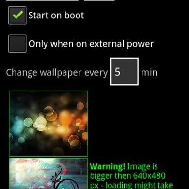 Change Your Android Backgrounds on a Schedule with Wallpaper Changer