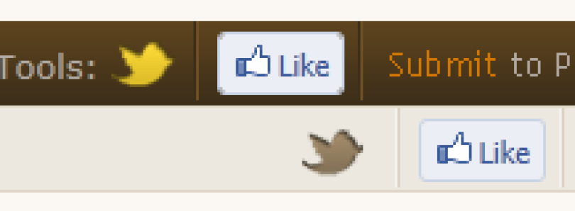 Facebook Like Buttons Added to Thread Tools