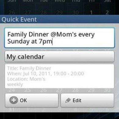 Do You Hate Adding Events On Your Calendar? If So, Try This…