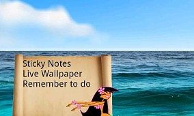 Have Sticky Notes As Your LWP