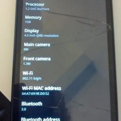 (Breaking) HTC Holiday – First Pictures Leaked