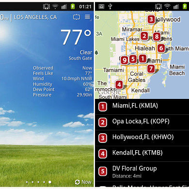 BeWeather Beta Brings Your Forecast In Style