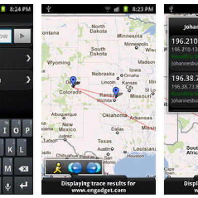 See Your Routing In Action With Visual Traceroute for Android