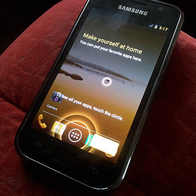 Ice Cream Sandwich Ported to the Samsung Galaxy S
