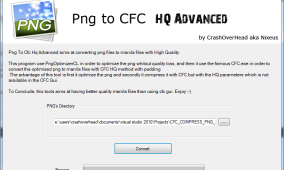 Compress Png To CFC With HQ – GUI