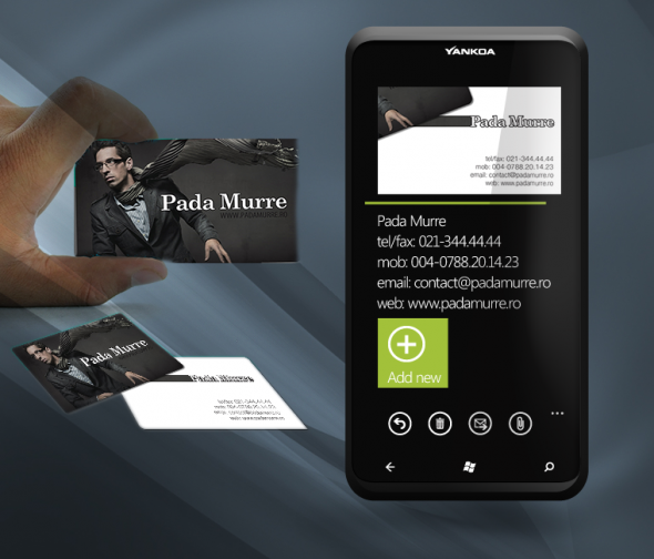 Concept business card reader windows phone calling for devs concept business card reader windows phone calling reheart Images