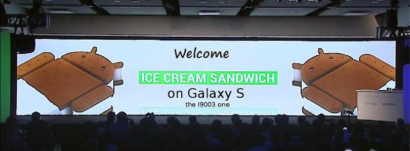 ICS Ported To Galaxy S i9003