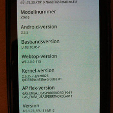 Update For Motorola Droid RAZR And Non-US RAZR Rolling Out