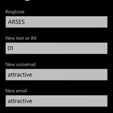 Hack Allows Any File Size And Format For Ringtone And Alert Sounds On WP7