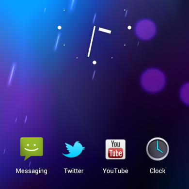 How to Disable the Google Search Bar in ICS