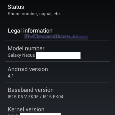 What is Android 4.1?