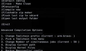 How to – HTC Desire Kernel Development with Interactive Menu