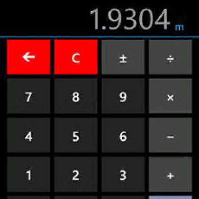 Convert2Go Is A Well Designed Unit Converter For WP7