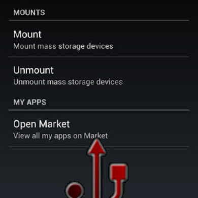 Automatically Mount and Dismount USB Sticks on the Galaxy Nexus with StickMount