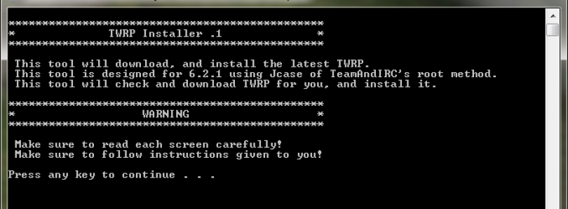 TWRP Installer For Kindle Fire