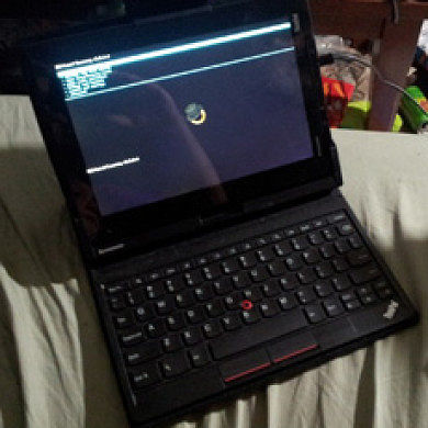 Lenovo ThinkPad Tablet Rooted, CWM Ported