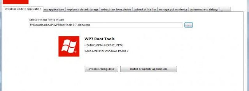 Wf Phone Tools Lets You Micromanage Your WP7 Device