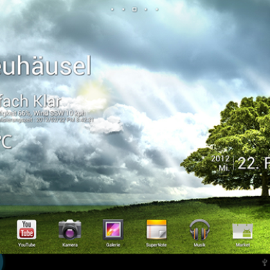 First Custom Rom Appears for the Asus Transformer Prime