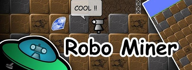 Robo Miner: Discover the Treasures
