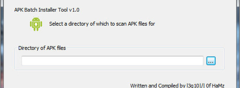 Restore Apps from Your PC with APK Batch Installer