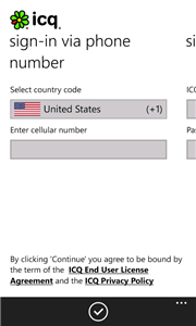ICQ - Official Client For Windows Phone