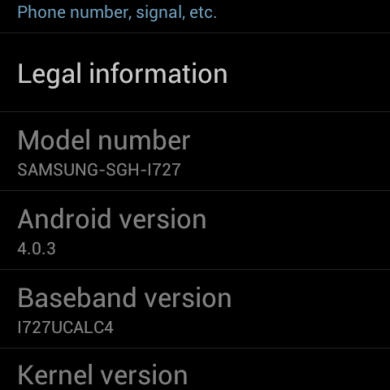 Samsung Galaxy S2 Skyrocket Gets ICS Leak and Gets Rooted!