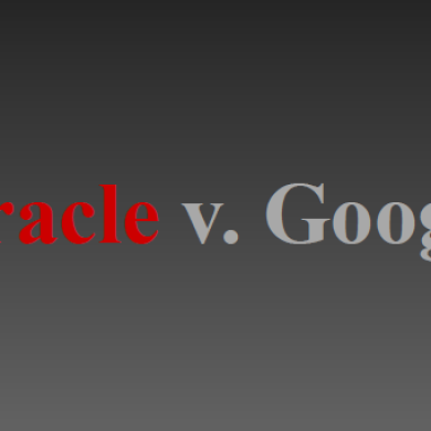 Update on the Oracle Versus Google Trial