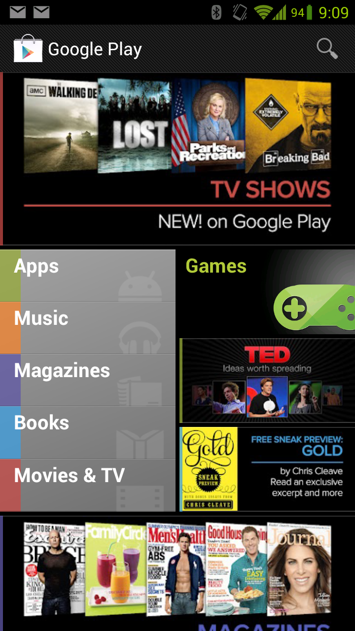 Install the Jelly Bean Google Play Update Now