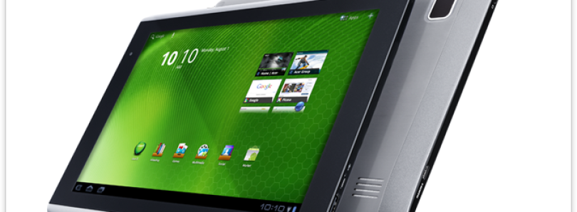 Jelly Bean for the Acer Iconia A500