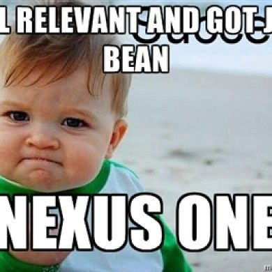 Nexus One Lives On, Gets Jelly Bean