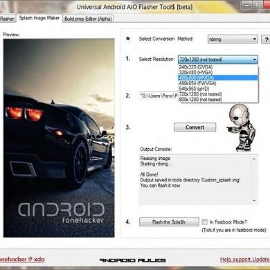 Universal Android AIO Flasher Tool Updated
