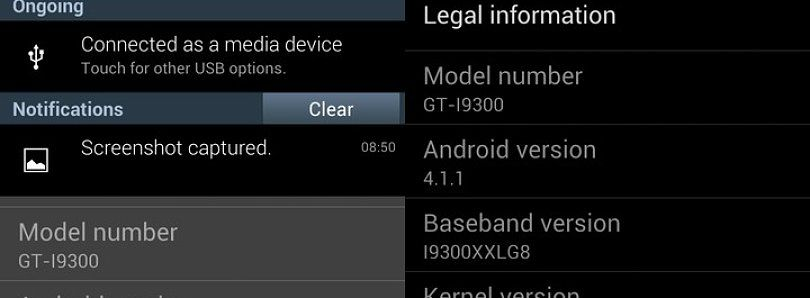Jelly Bean Leaked for the International Galaxy S III