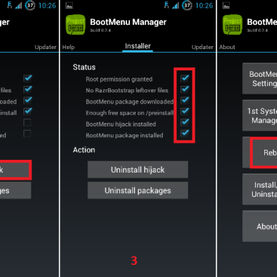 Learning to Use the BootMenu Manager for Droid RAZR