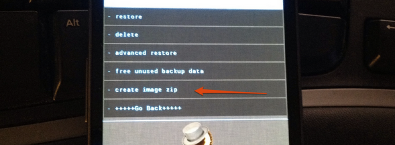 Create Your Own Flashable Zip via ClockworkMod Recovery