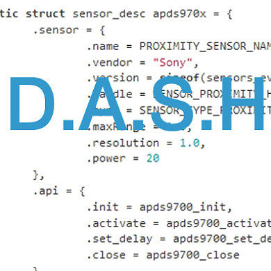 DASH-ing Move by Sony–D.A.S.H. Goes Open Source