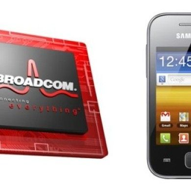 Broadcom Releases EGL Drivers for Samsung Galaxy Y