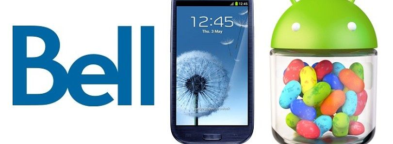 Leaked JellyBean ROM Available for BELL Galaxy S III