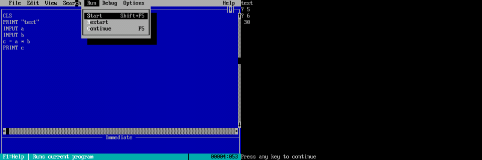 Run QBasic on Android