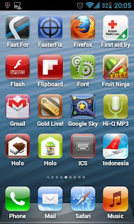 Mimic the Dark Side with Fake iPhone 5 Launcher